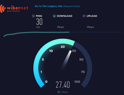 SPEED TEST SHOWS SLOW SPEEDS – WHY?